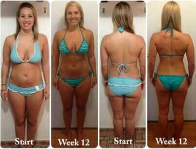 bikini body workouts results