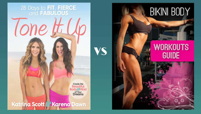 Tone it Up VS Bikini Body Workouts